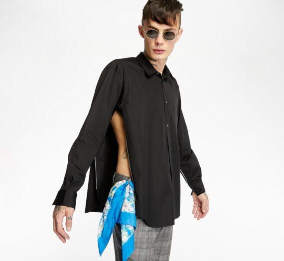 Ризи Comme des Garçons SHIRT Shirt Black 46790_M