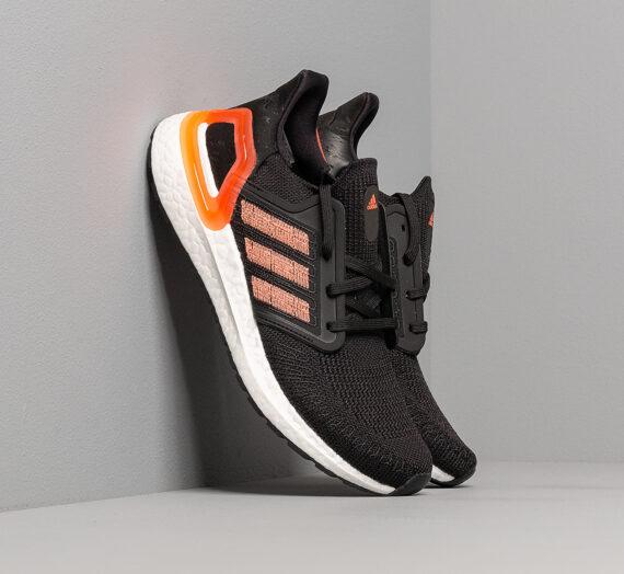 Дамски кецове и обувки adidas UltraBOOST 20 W Core Black/ Signature Coral/ Ftw White 48355_8_5