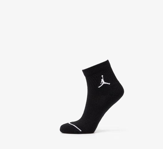 Чорапи Jordan Everyday Max 3 Pair Ankle Socks Black/ Black/ Black 50342_S