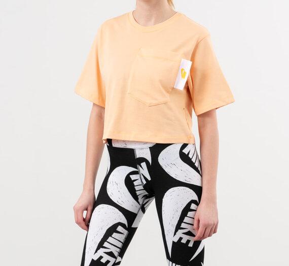 Тениски Nike Sportswear Crop Top Orange Chalk/ White/ Laser Orange 50536_L