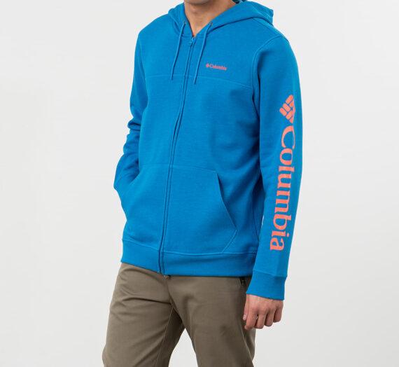 Суичъри и пуловери Columbia Logo Fleece Hoodie Blue 51821_S