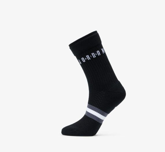 Чорапи Jordan Legacy 2 Pair Crew Socks Black/ White/ White 52526_S