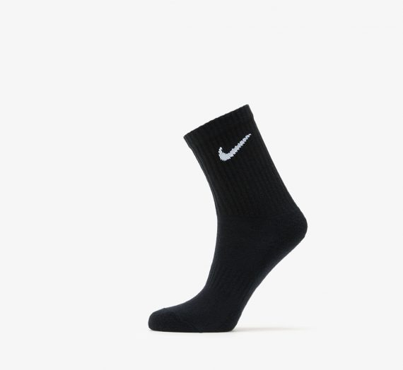Чорапи Nike Everyday Cush 2 Pair Crew Socks Black/ White 52553_M