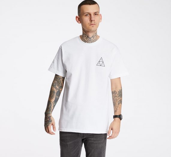 Тениски HUF Essentials Triple Triangle Tee White 53012_S