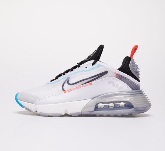 Дамски кецове и обувки Nike W Air Max 2090 White/ Black-Pure Platinum-Bright Crimson 53023_8_5