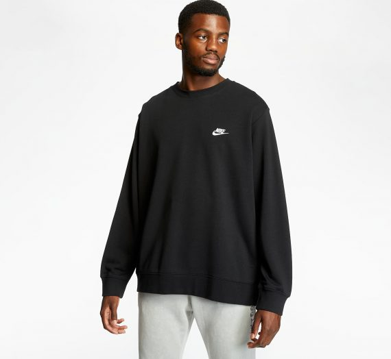 Суичъри и пуловери Nike Sportswear Club Crewneck Black 58255_M