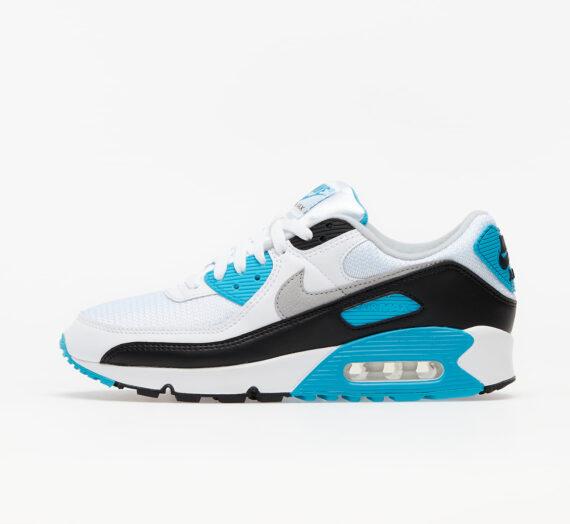 Мъжки кецове и обувки Nike Air Max III White/ Black-Grey Fog-Laser Blue 60607_12