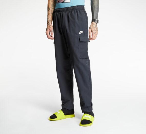 Дънки и панталони Nike Sportswear Woven Pants Black/ White 61690_XL