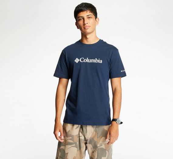 Тениски Columiba Basic Logo Tee Navy Blue 64570_L