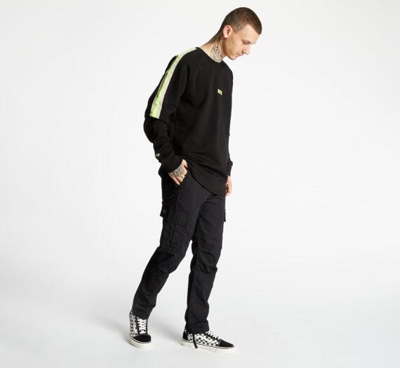 Суичъри и пуловери Horsefeathers Trey Atrip Sweatshirt Black 72418_S