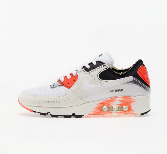 Мъжки кецове и обувки Nike Air Max III Premium White/ White-Black-Bright Crimson 79876_7_5