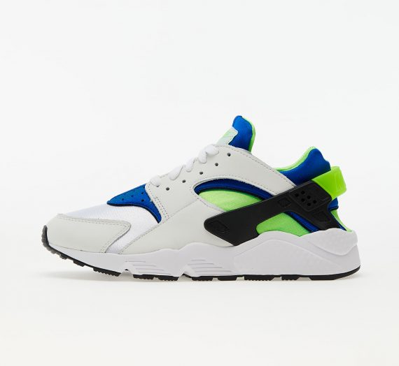 Мъжки кецове и обувки Nike Air Huarache White/ Scream Green-Royal Blue-Black 81418_7