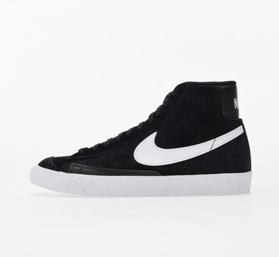 Дамски кецове и обувки Nike Wmns Blazer Mid '77 Black/ White 86377_5