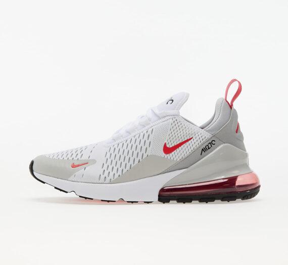 Мъжки кецове и обувки Nike Air Max 270 White/ Lt Fusion Red-Grey Fog-Black 86383_7_5