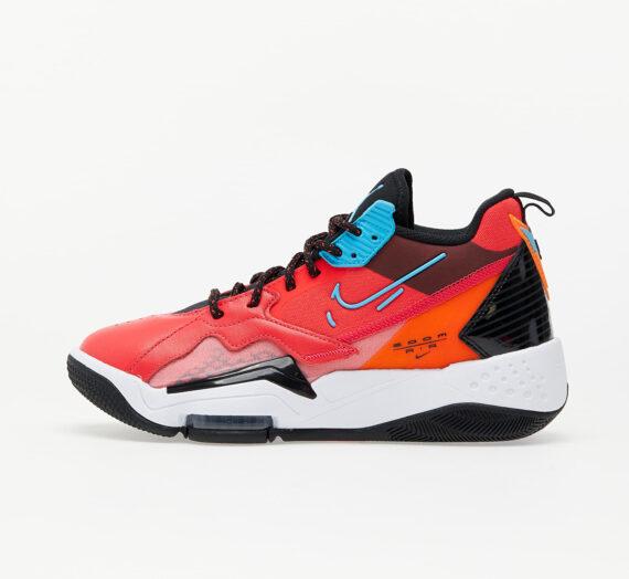 Дамски кецове и обувки Jordan Wmns Zoom '92 Siren Red/ Blue Fury-Black-Total Orange 86551_9