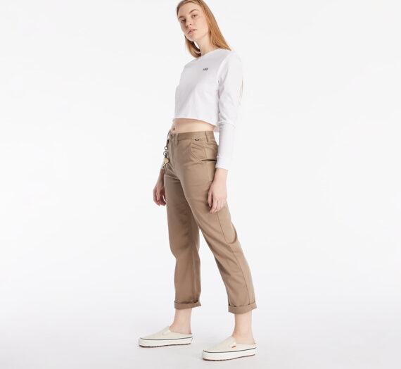 Дънки и панталони Vans Authentic Chino Wmn Military Khaki 105178_26
