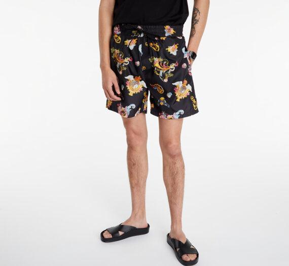 Бански Versace Jeans Couture Swim Trunks Black Print 120358_S