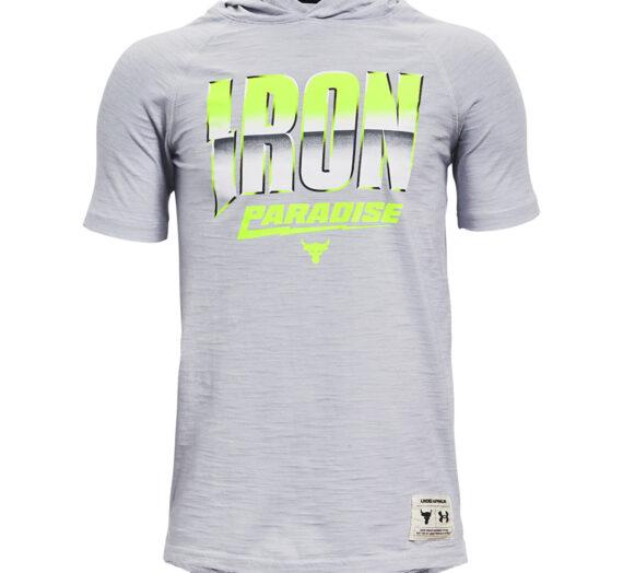 Тениски Under Armour Y Project Rock Cc SS Tee Hdy Gray 122011_XS