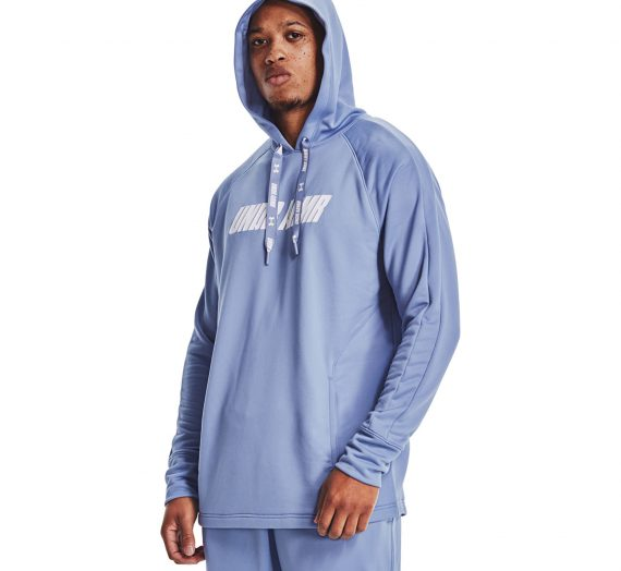 Суичъри и пуловери Under Armour Baseline P/O Hoody Blue 122038_XXL