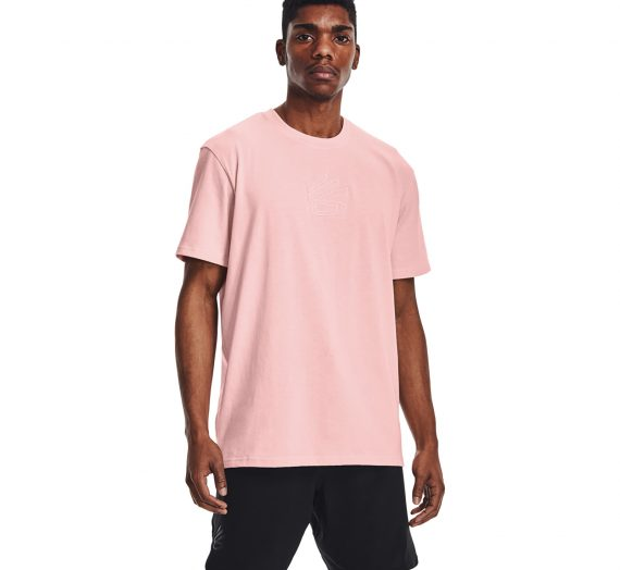 Тениски Under Armour Curry Embroidered Undrtd Tee Pink 122146_S