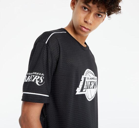 Тениски New Era Nba Team Logo Oversized Los Angeles Lakers Blk 123184_S