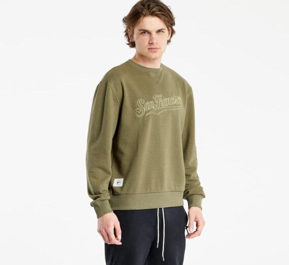 Суичъри и пуловери New Era Mlb Heritage Script Crew San Francisco Giants Novyps 123211_S