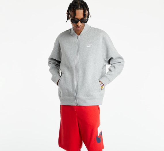 Бомбъри Nike Sportswear Men's Bomber Jacket Dk Grey Heather/ White 125116_XL