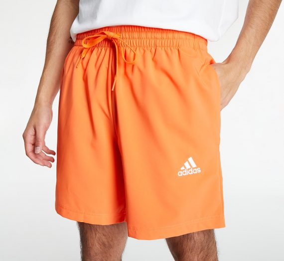 Къси панталони adidas Performance AEROREADY Essentials Chelsea Small Logo Shorts True Orange/ White 125725_S