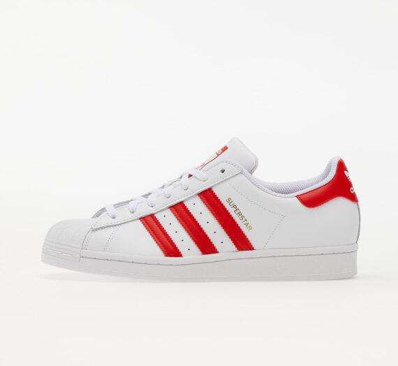 Мъжки кецове и обувки adidas Superstar Ftwr White/ Vivid Red/ Gold Met. 126088_8_5