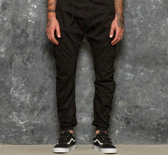 Дънки и панталони Urban Classics Cargo Jogging Pants Black 20583_XXL