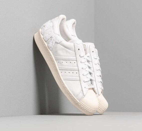 Мъжки кецове и обувки adidas Superstar 80s Crystal White/ Crystal White/ Off White 29724_10