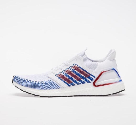 Мъжки кецове и обувки adidas UltraBOOST 20 Ftw White/ Scarlet/ Royal Blue 48350_7_5