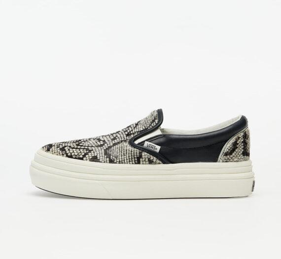 Мъжки кецове и обувки Vans Super ComfyCush Slip-On (Snake/ Pony) Black/ Marshmallow 56797_6_5