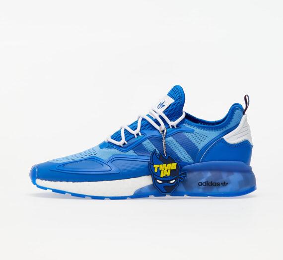 Мъжки кецове и обувки adidas x Ninja ZX 2K Boost Blue/ Ftw White/ Core Green 59617_10