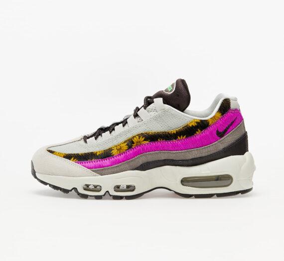 Дамски кецове и обувки Nike Wmns Air Max 95 Premium Light Bone/ White-Velvet Brown-Olive Grey 61045_7_5