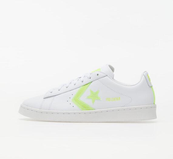 Мъжки кецове и обувки Converse Pro Leather White/ Lemon Venom/ White 81931_8