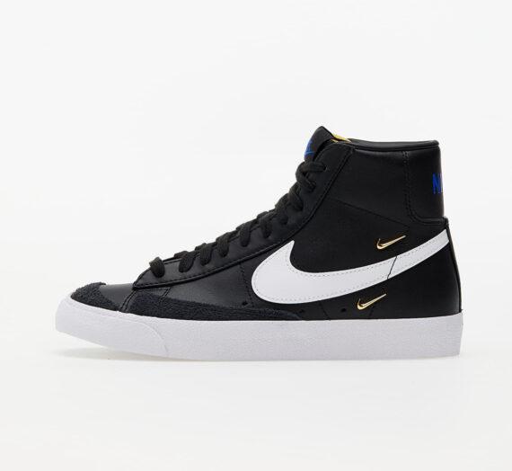 Дамски кецове и обувки Nike W Blazer Mid '77 SE Black/ White-Hyper Royal-White 86242_8_5