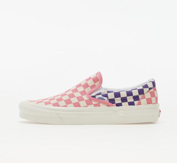 Мъжки кецове и обувки Vans Classic Slip-On 98 DX (Anaheim Factory) Og Lt. Pink/ Og Purple/ Og Checker 99952_8