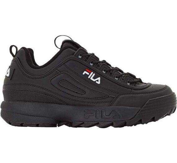 Fila DISRUPTOR LOW WMN черен 38 – Дамски обувки за свободното време 1435258