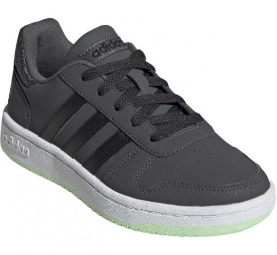 adidas HOOPS 2.0 K сив 5 – Детски обувки за свободното време 1570872