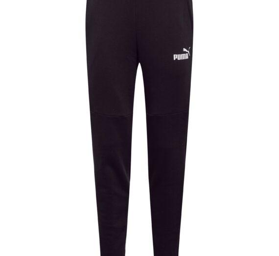 PUMA Панталон  черно / бяло 43111291
