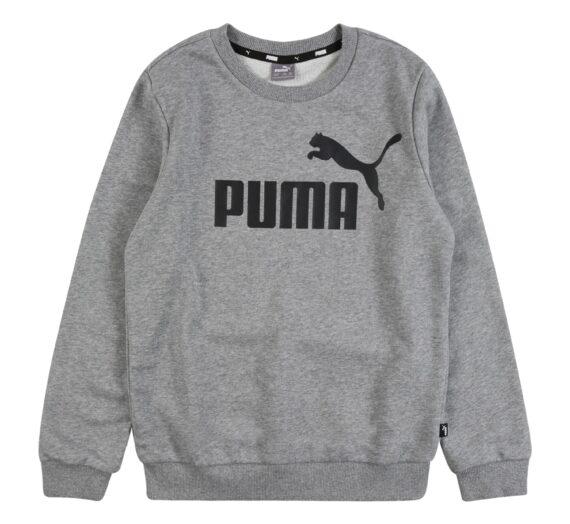 PUMA Суичър  сив меланж / черно 43141376