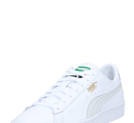 PUMA Ниски маратонки 'Basket Classic XXI'  бяло / сиво 43142841