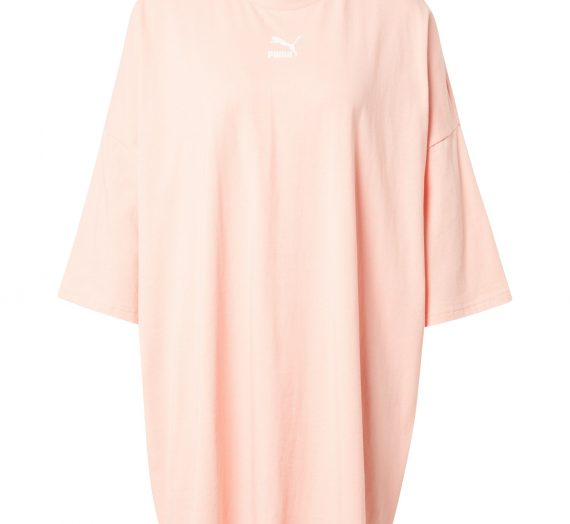 PUMA Рокля Oversize  пастелно розово 43159328