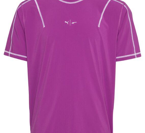PUMA Функционална тениска  лилав / бяло 43173698