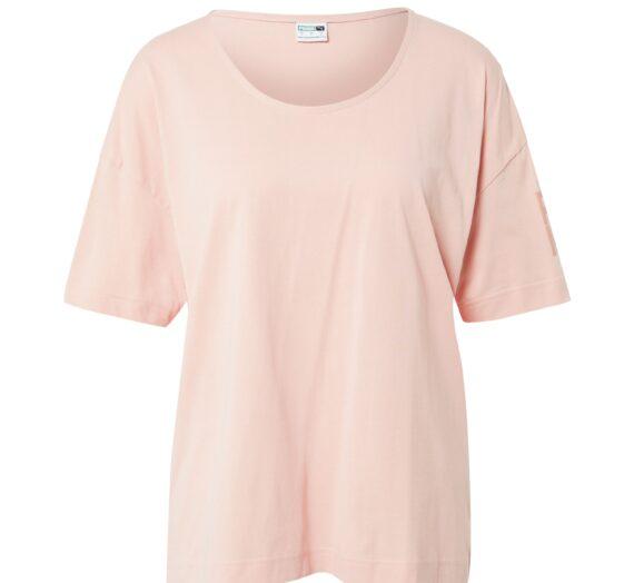 PUMA Тениска  светлорозово 43661789