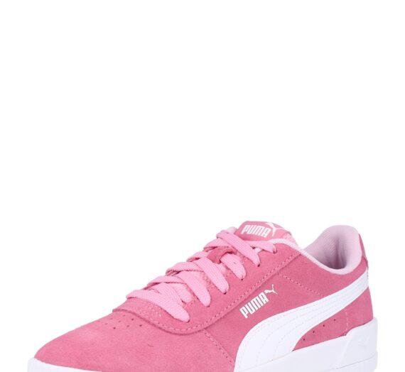 PUMA Сникърси 'Carina'  бяло / розово 43744726