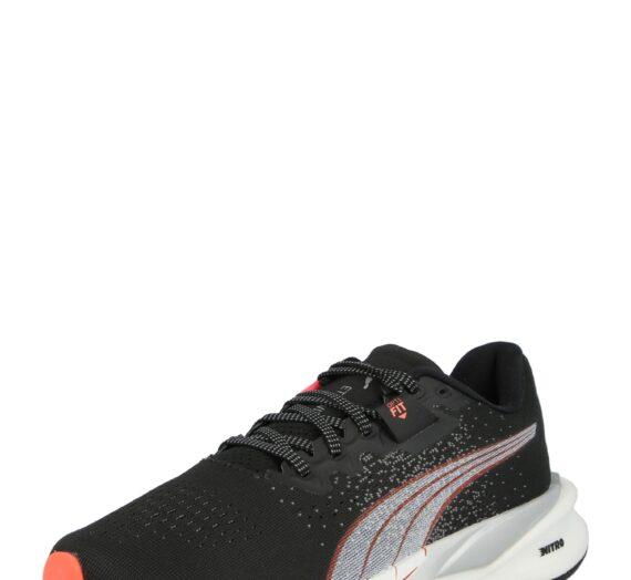 PUMA Спортни обувки 'Eternity Nitro'  бяло / черно / червено 45308437
