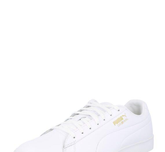 PUMA Спортни обувки  бяло / златистожълто 45459637