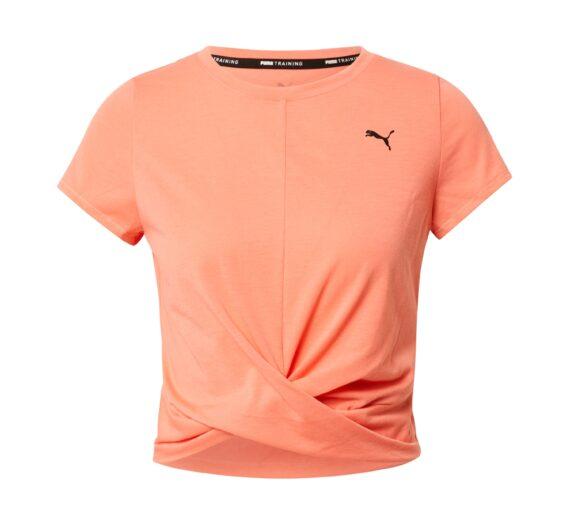 PUMA Функционална тениска  праскова / черно 45683161